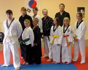 Taylor's Tae Kwon Do has martial arts classes for the entire family.